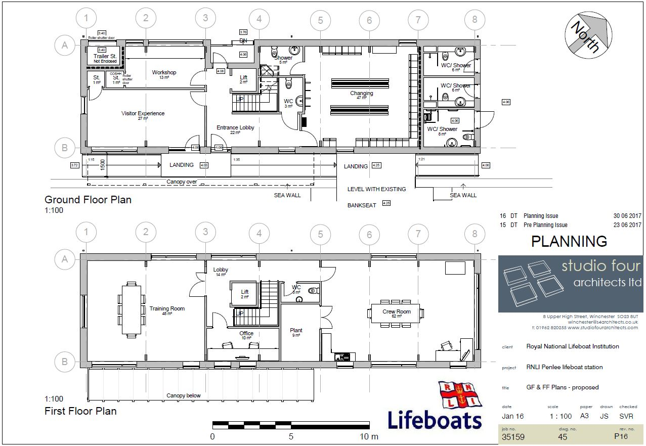Rnli Penlee Lifeboat New Build Plans