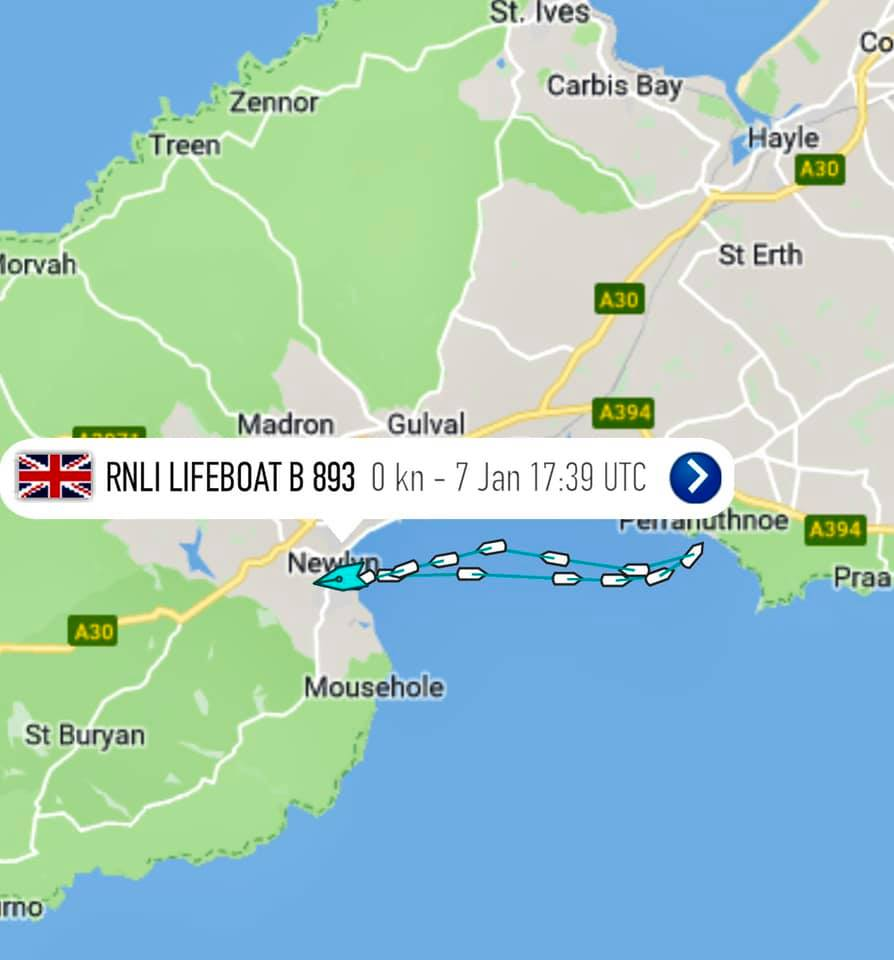 RNLI Penlee Lifeboat - Latest Launches