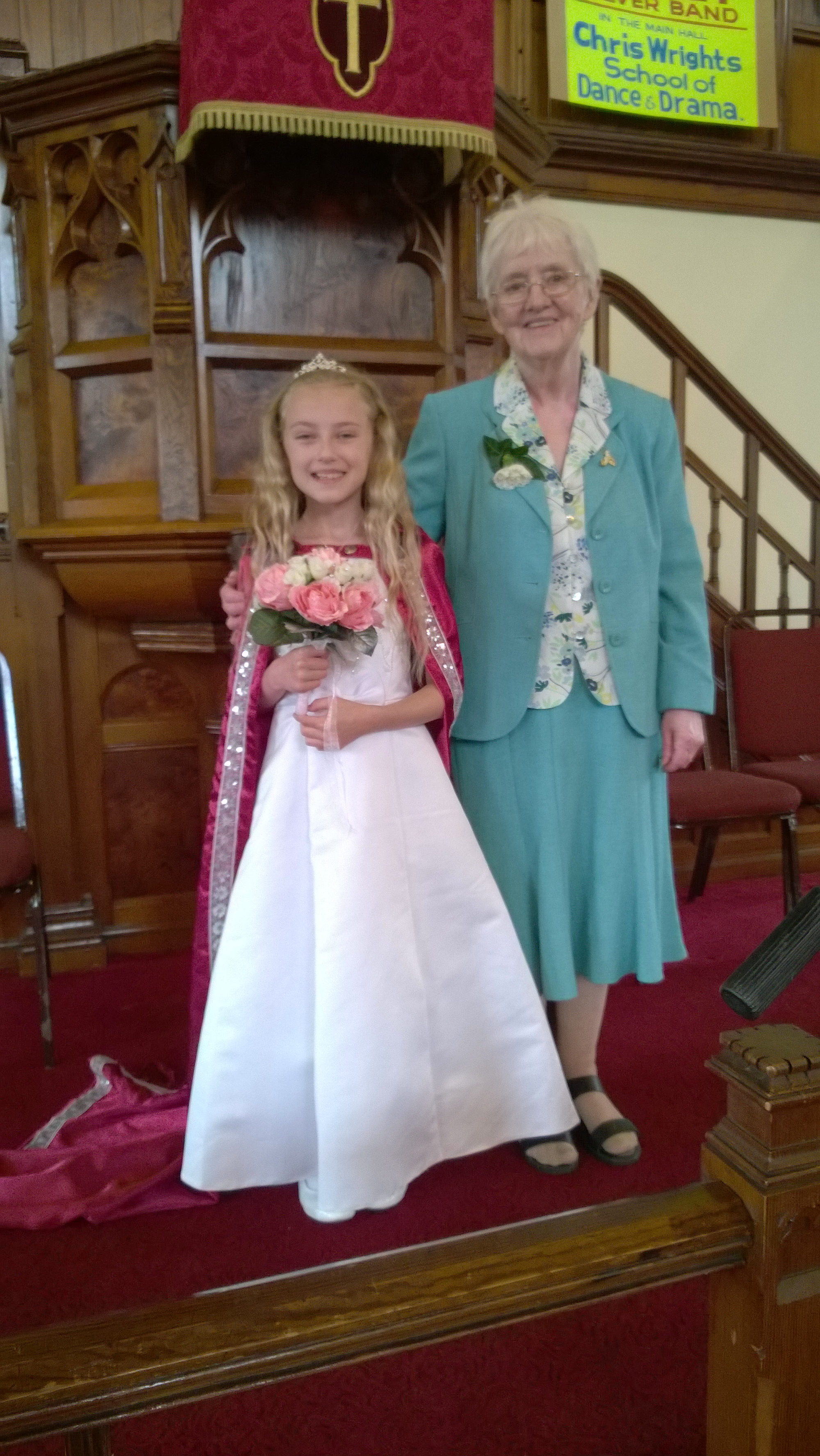 Churchtown United Reformed Church Rose Queen Festival