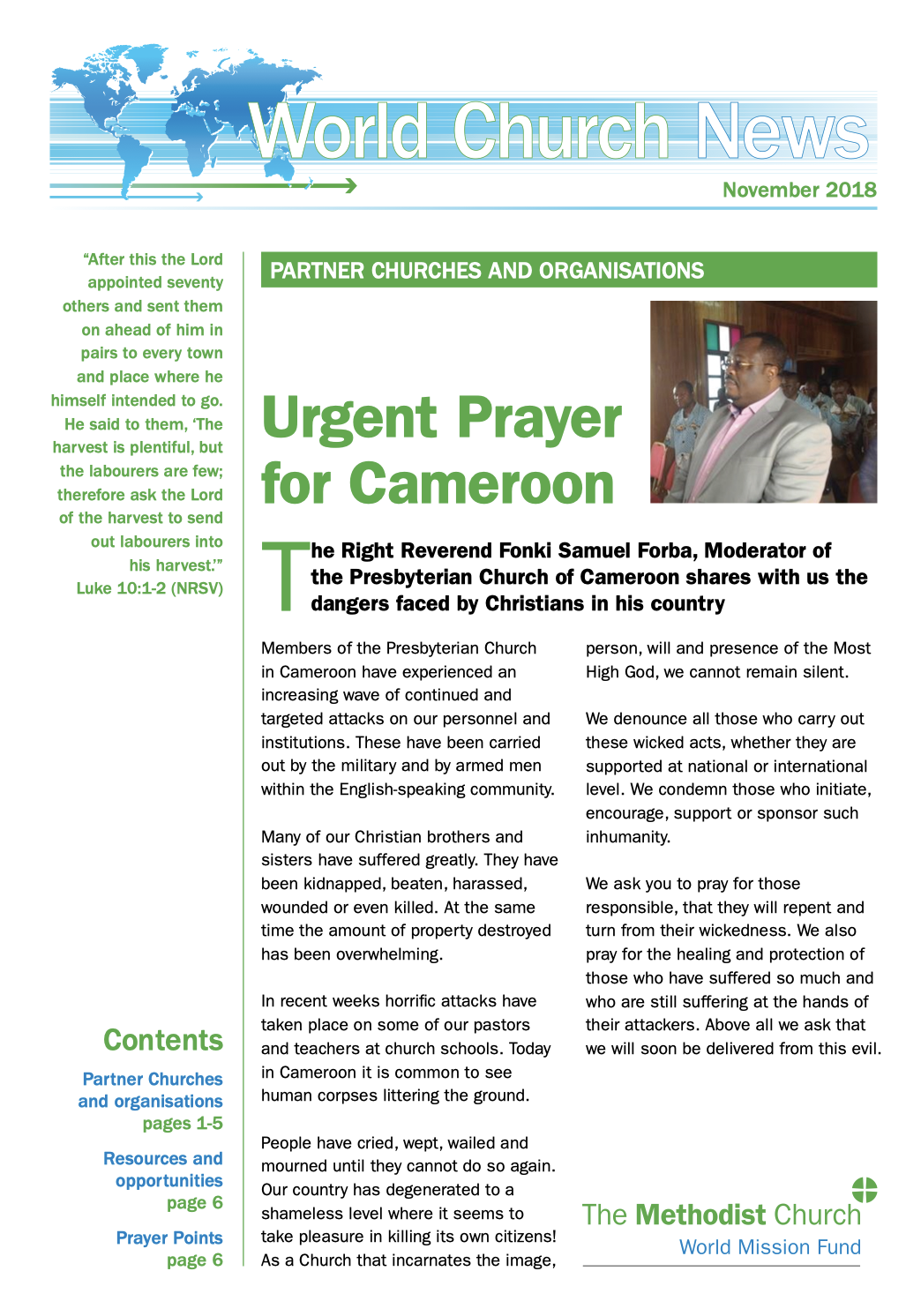 Watton Methodist Church - News