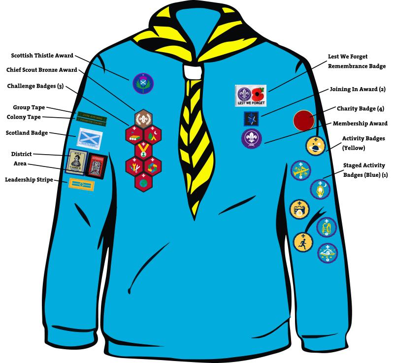 61a80d16 Cookridge Methodist Scout Group - Beaver Uniform .