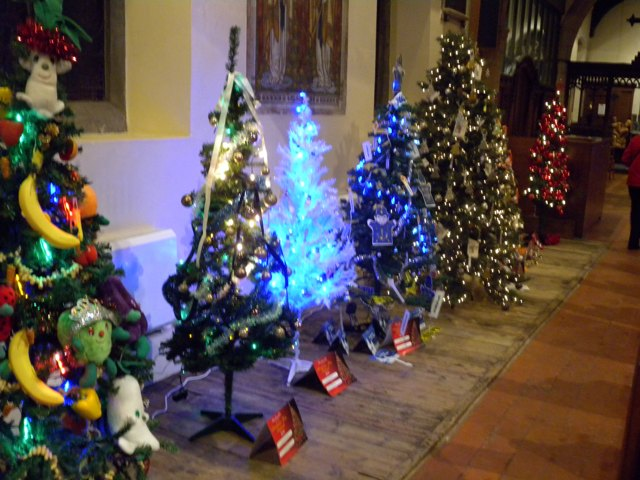 Hucknall Tourism And Regeneration Group Christmas Tree