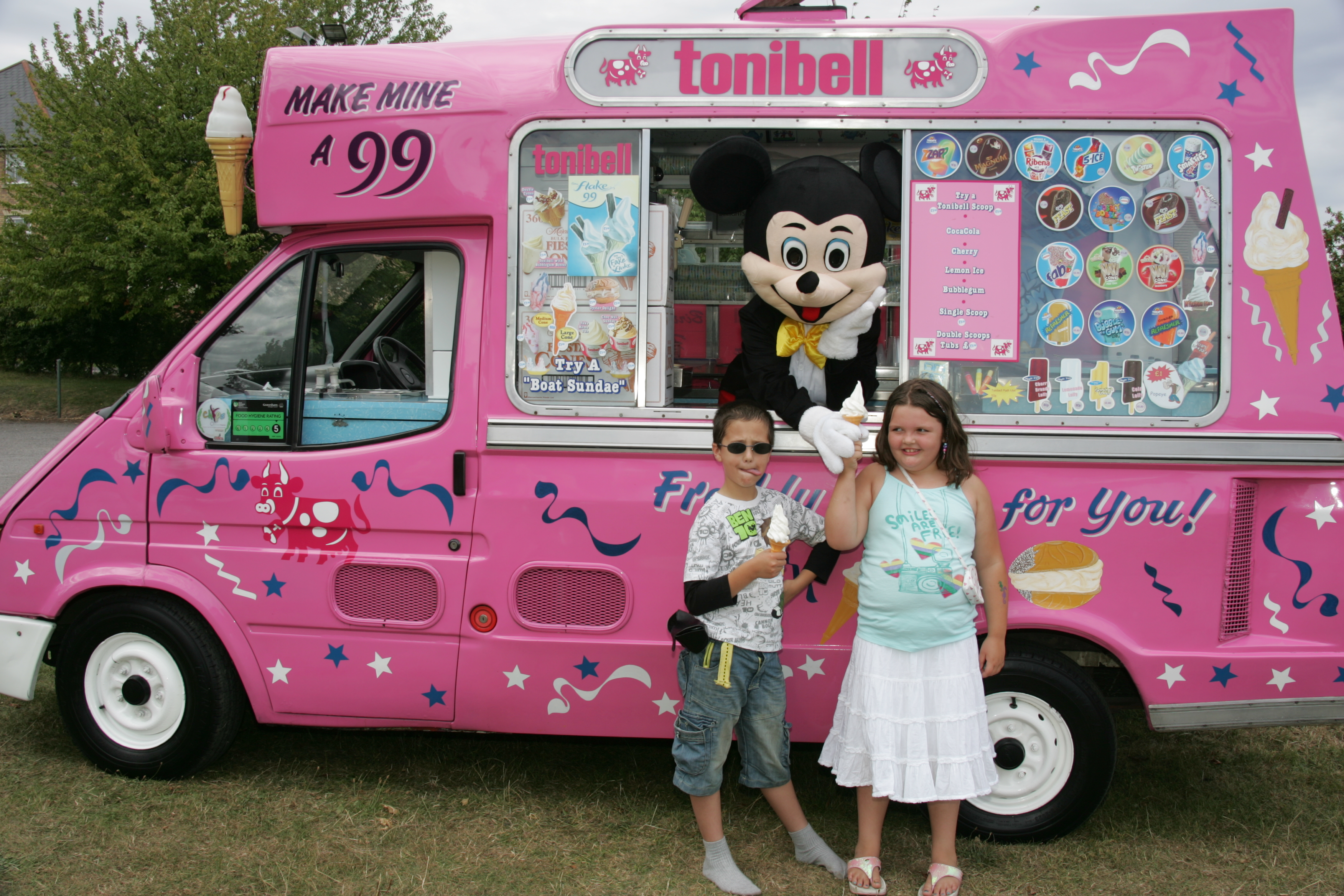 e524c0841e Any occasion party or theme tonibell ice cream vans for hire charity  events- birthdays- school fetes-fayres- weddings