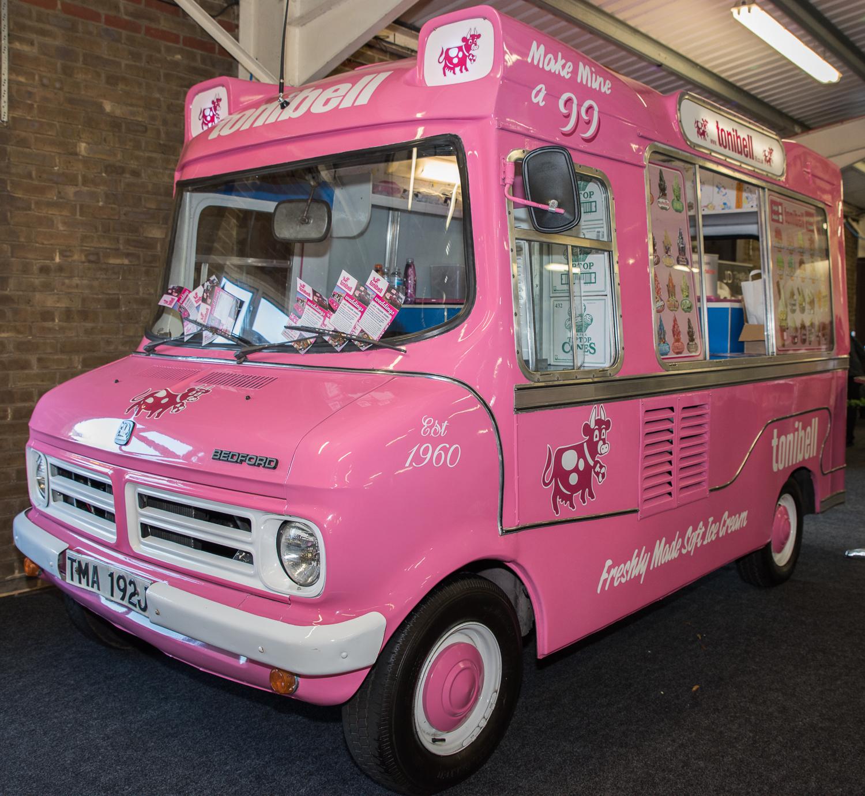 55ba877291 Hire a piece of British history wedding vintage ice cream van hire in Kent  weddings