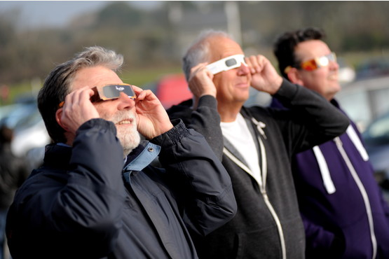 Plymouth Astronomical Society - Solar Eclipse - 20th March 2015