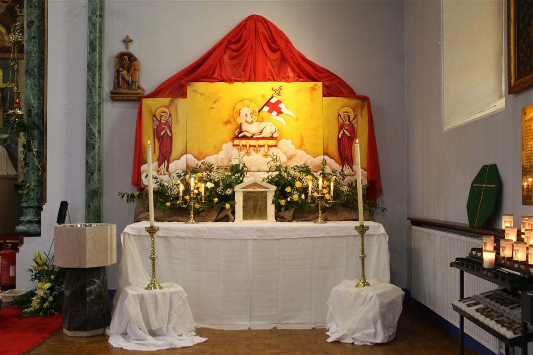 Ss John Cantius And Nicholas Catholic Church Altar Of Repose