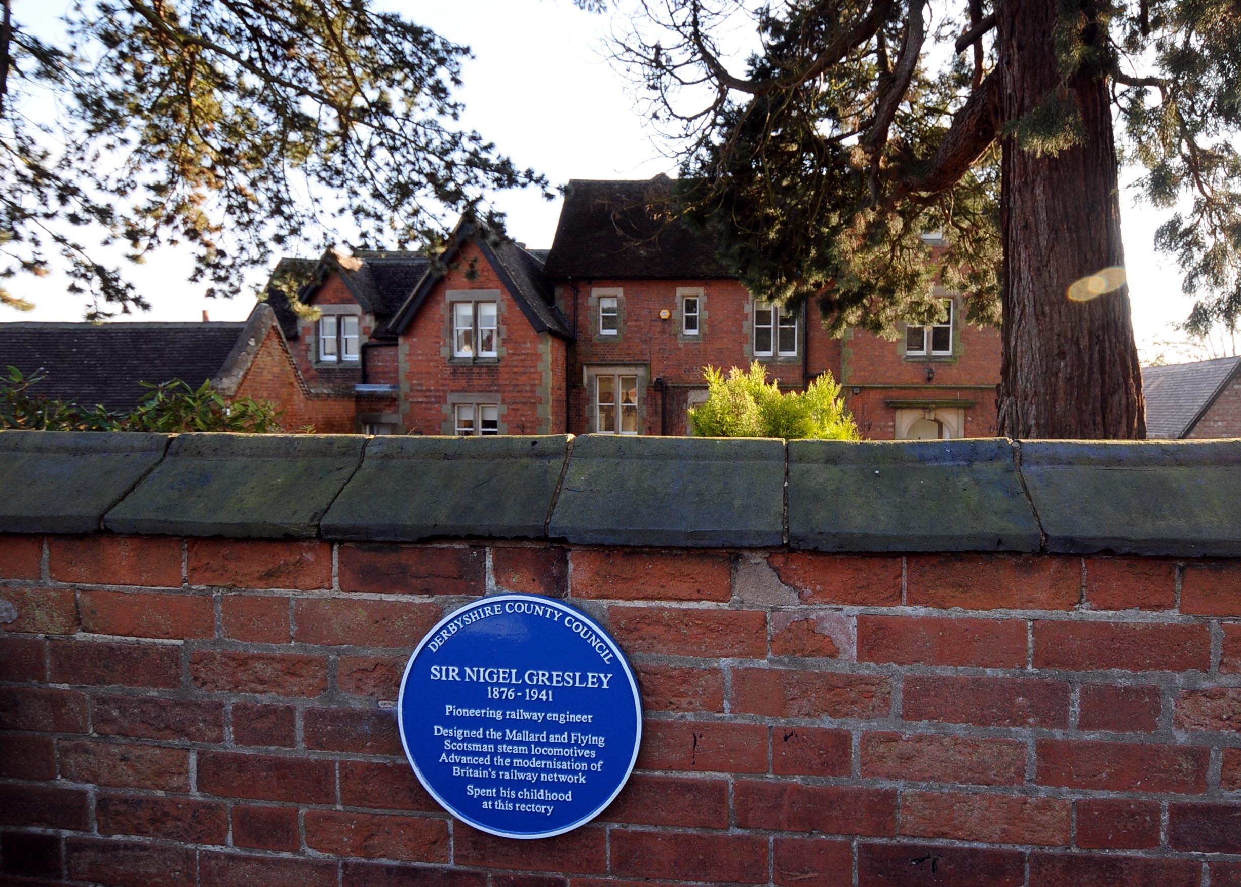 The Website Of Netherseal Village Sir Nigel Gresley Blue